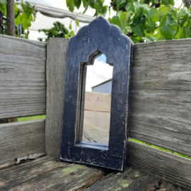 Spiegel klein 'zwart'