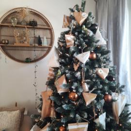 Adventskalender voor in de kerstboom