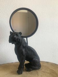 Tijger spiegel 'Zwart'