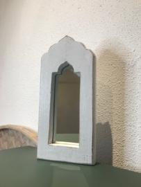 Spiegel klein 'wit'