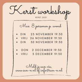 Kerst seizoens workshop