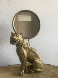 Tijger spiegel 'Goud'