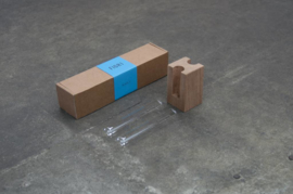 Figr1 Block2  Vaasje | Donker Hout