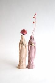 Atelier Saf Maria Vaasje Medium | Peach & Goudluster