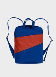 Susan Bijl Backpack - Electric Blue & Rust