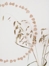 Jurianne Matter Twig Leaves |  Blushing Beige