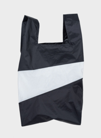 Susan Bijl Shoppingbag L - Black & White