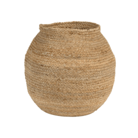 Unc Storage Basket Round - Jute