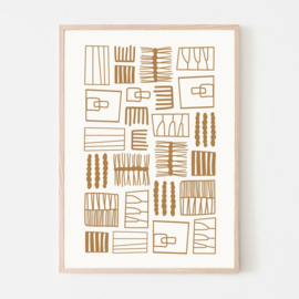 Silvia Visscher Poster - Embroidery A01