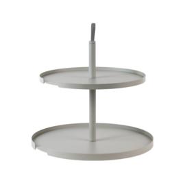 DesignBite Cake Etagère 2 lagen | Grijs