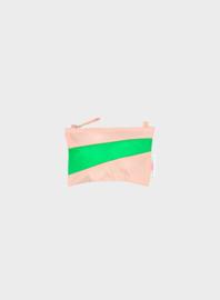 Susan Bijl Pouch S - Powder & Greenscreen
