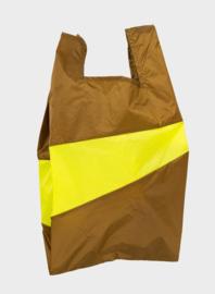 Susan Bijl Shopper L | Make & Fluo Yellow