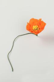 Studio About - Papieren Bloem | Poppy Rood
