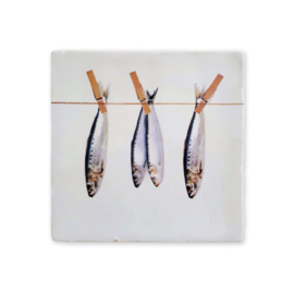 VanOns2 Muurtegel | Vissen Aan Lijn