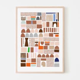 Silvia Visscher Poster - Geometric 05
