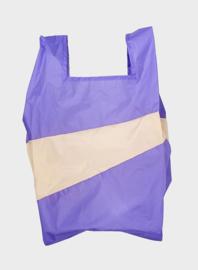 Susan Bijl Shoppingbag L - Lilac & Cees