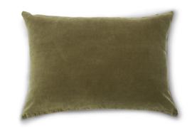 Unc kussen Vintage Velvet - Fir Green