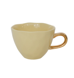 Unc Good Morning Cup - Raffia Yellow