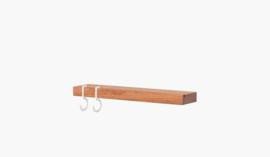 Figr1  Wandplankje 30cm | Donker Hout