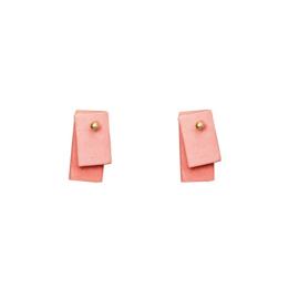 Stook Play Earrings - Small Block