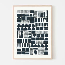 Silvia Visscher Poster - Geometric 04