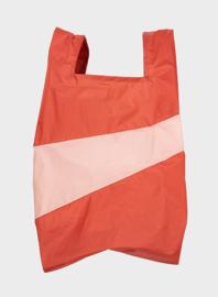 Susan Bijl Shoppingbag L - Rust & Powder