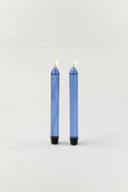 Studio About - Glazen Kaars | Blauw