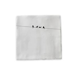 VanOns2 Muurtegel | Vogels Op Lijn