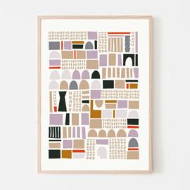 Silvia Visscher Poster - Geometric 02
