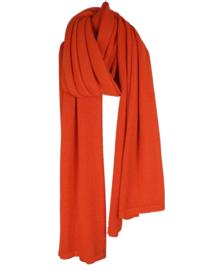 Sjlmn Cosy Eco Cotton Sjaal - Bright Orange