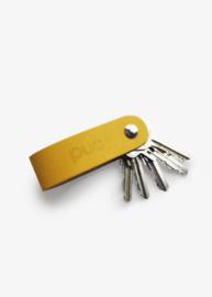 Puc Bags - Hide & Key Sleutelhanger - Geel