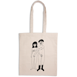 Helen B. Tote Bag - Naked Couple