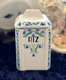 Voorraadpot – Nimy – opschrift 'RIZ'