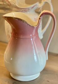 Lampetkan / cruche / pitcher / Wasserkanne - Nimy - kleiner model - in kleur verlopend roze