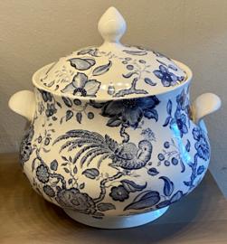 Soepterrine - Villeroy & Boch - décor PARADISO blauw - maat 3