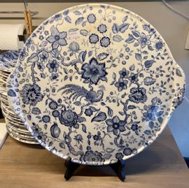 Gebakschaal / taartschaal - Villeroy & Boch - décor PARADISO blauw