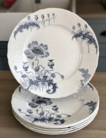 Dinerbord - Société Céramique Maestricht - décor MORPHÉE blauw