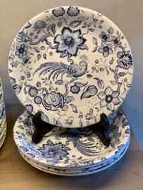 Diep bord - Villeroy & Boch - décor PARADISO blauw (Kupferdruck Unterglasur)