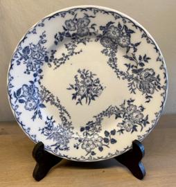 Ontbijtbordje / dessertbordje - Sarreguémines - decor BERTHA blauw