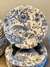 Ontbijtbord - Villeroy & Boch - décor PARADISO blauw (Kupferdruck Unterglasur)