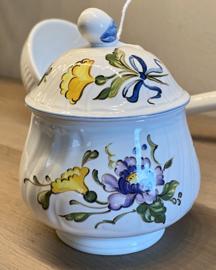 Suikerpotje - Villeroy & Boch - décor DIAMANT CAPRI