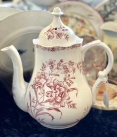 Koffiepot - Nimy - décor OEILLETS rood