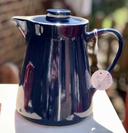 Koffiepot - MELITTA - model 30-110 - donkerblauw met crème