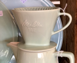 Filter / koffiefilter - MELITTA - geheel pastelgroen