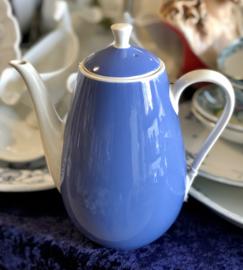Koffiepot - Villeroy & Boch - SAAR  blauw en wit