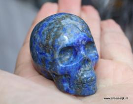 skull  lapis lazuliet