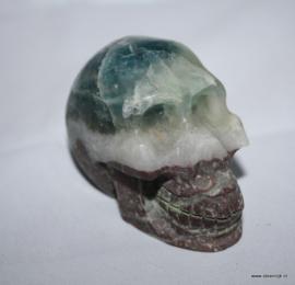 Skull fluoriet Groen