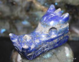skull draak lapis lazuliet