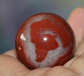 Rode Jaspis bol
