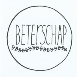 Handmade by Janine - Kaart - Beterschap